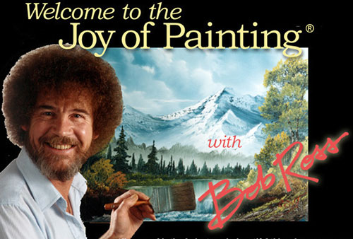 Featured Artist: Bob Ross